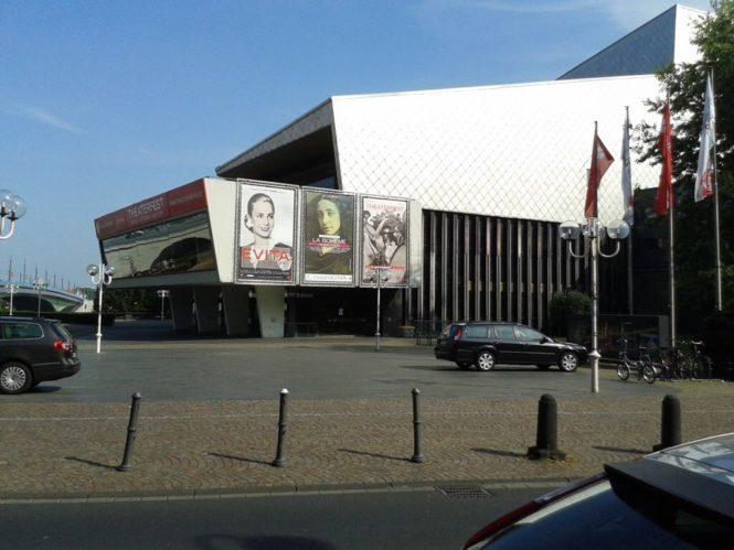 Das Theater am Rhein ist marode