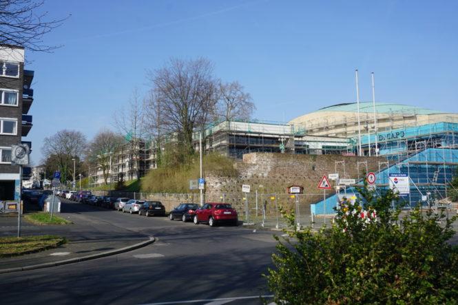 Baustelle Beethovenhalle